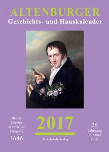 Altenburger Geschichts- und Hauskalender 2017