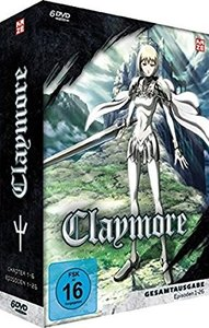 Claymore, 6 DVDs (Slimpackbox)