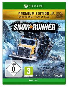 SnowRunner, 1 Xbox One-Blu-ray Disc (Premium Edition)