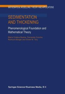 Sedimentation and Thickening