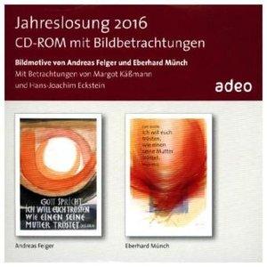 CD-ROM mit Bildbetrachtung - Jahreslosung 2016, 1 CD-ROM