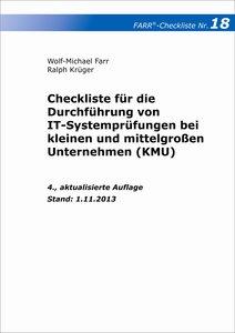 Checkliste 18 für die Durchführung von IT-Systemprüfungen bei kl