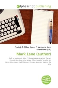 Mark Lane (author)