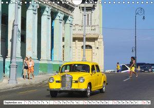 STERN-STUNDEN IN HAVANNA - MERCEDES-BENZ AUF KUBA (Wandkalender