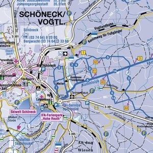 Kammloipe Schöneck-Johanngeorgenstadt / Krusnohorska lyzarska ma