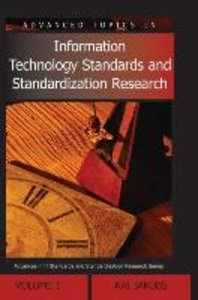 Advanced Topics in Information Technology Standards and Standard