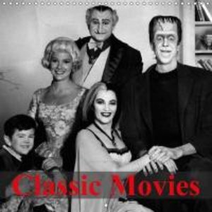 Classic Movies (Wall Calendar 2015 300 × 300 mm Square)