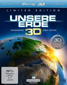 Unsere Erde Real 3D, 10 Blu-ray (Limited Special Edition)