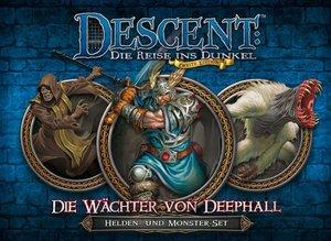 Asmodee FFGD1326 - Descent 2. Edition: Die Wächter von Deephall,