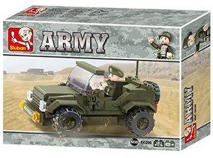 Sluban ARMY M38-B0296 - Jeep II, 121 Teile