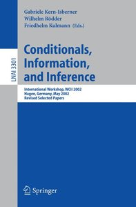 Conditionals, Information, and Inference