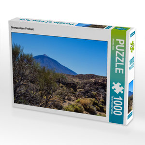 CALVENDO Puzzle Grenzenlose Freiheit 1000 Teile Lege-Größe 64 x
