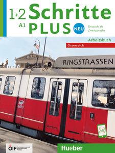 Schritte plus Neu 1+2 - Österreich / Arbeitsbuch mit 2 Audio-CDs