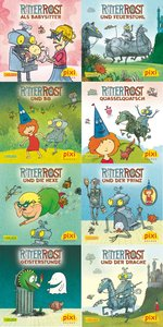 Pixi-Bundle 8er Serie 222: Ritter Rost