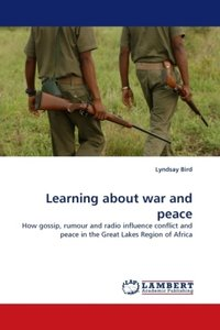 Learning about war and peace