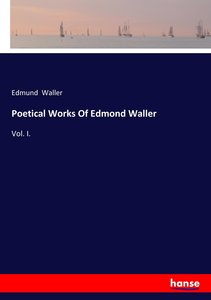 Poetical Works Of Edmond Waller