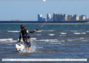 Kitesurfen - Wind und Wellen