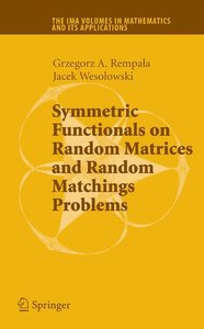 Symmetric Functionals on Random Matrices and Random Matchings Pr