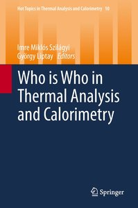 Who's Who in Thermal Analysis and Calorimetry 2014