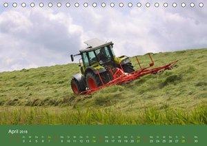 Landwirtschaft - harte Arbeit, schwere Maschinen (Tischkalender