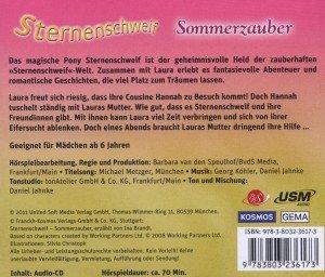 Sternenschweif 18: Sommerzauber