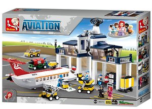 Sluban AVIATION M38-B0373 - Flughafen, 826 Teile
