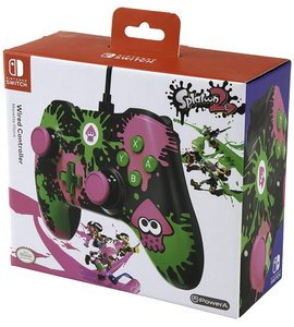 PowerA Wired Controller, Splatoon, für Nintendo Switch