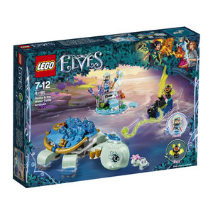 Elves Naida und die Wasserschildkröte