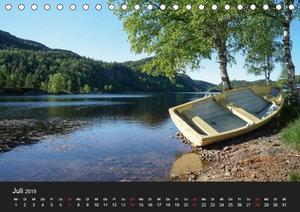 Faszination Norwegen (Tischkalender 2019 DIN A5 quer)
