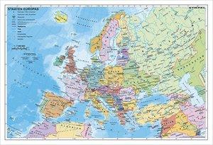 Staaten Europas, politisch 1 : 7 500 000. Wandkarte Kleinformat