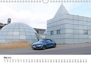 Modellreihen der 4 Ringe (Wandkalender 2019 DIN A4 quer)