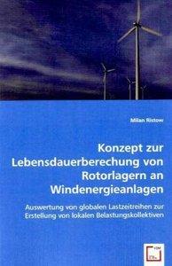 Konzept zur Lebensdauerberechung von Rotorlagern an Windenergiea