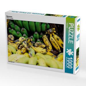Bananen 1000 Teile Puzzle quer