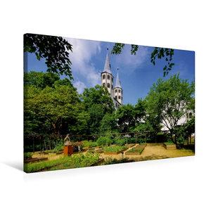Premium Textil-Leinwand 75 cm x 50 cm quer Neuwerkkirche