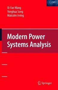 Modern Power Systems Analysis