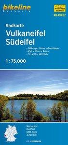 Bikeline Radkarte Deutschland Vulkaneifel 1 : 75 000