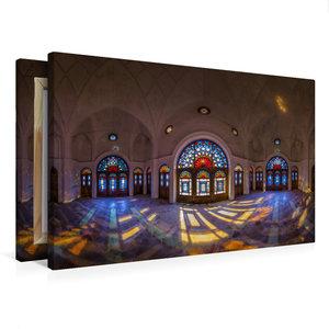 Premium Textil-Leinwand 75 cm x 50 cm quer Panorama vom Tabataba