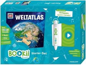 Bookii Starterset WAS IST WAS Weltatlas! Buch + Hörstift, mit 1