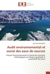 Audit environnemental et social des eaux de sources