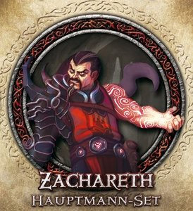 Asmodee FFGD1306 - Descent 2. Edition, Zachareth Hauptmann-Set,