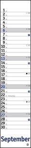 Planer Mini-long, blau Kalender 2020
