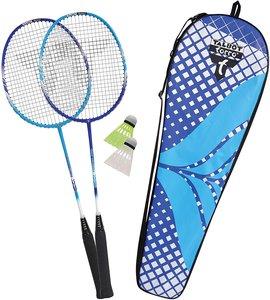 Talbot Torro 449404 - Badminton-Set Fighter Pro 2er Set, 2 Graph