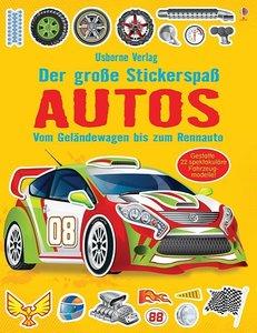 Der große Stickerspaß: Autos