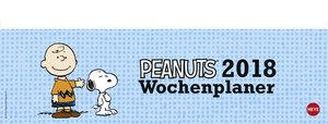 Peanuts Wochenquerplaner - Kalender 2018