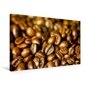 Premium Textil-Leinwand 75 cm x 50 cm quer Kaffee