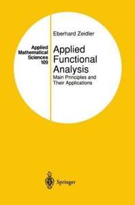 Applied Functional Analysis. Main Principles and Their Applicati