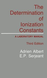 The Determination of Ionization Constants
