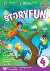 Storyfun for Starters, Movers and Flyers 4. Student\'s Book with