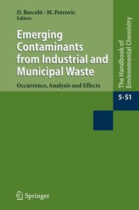 The Handbook of Environmental Chemistry 5 PT 5X