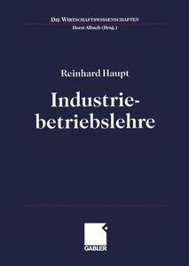 Industriebetriebslehre. Einführung